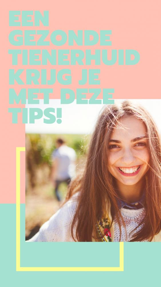Een gezonde tienerhuid krijg je met deze tips
