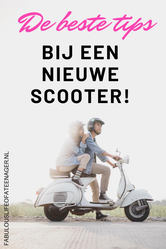 De beste tips bij een nieuwe scooter