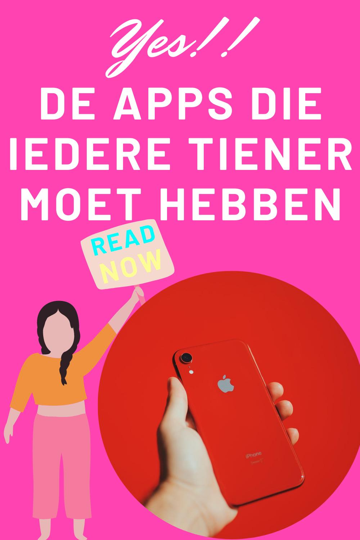 De apps die iedere tiener moet hebben