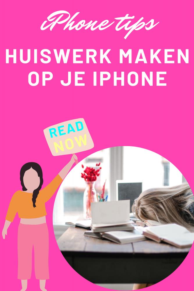 Huiswerk maken op je iphone 9 tips