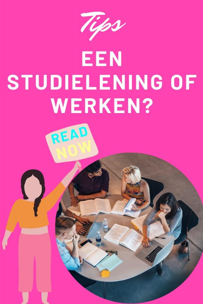 Studielening of werken