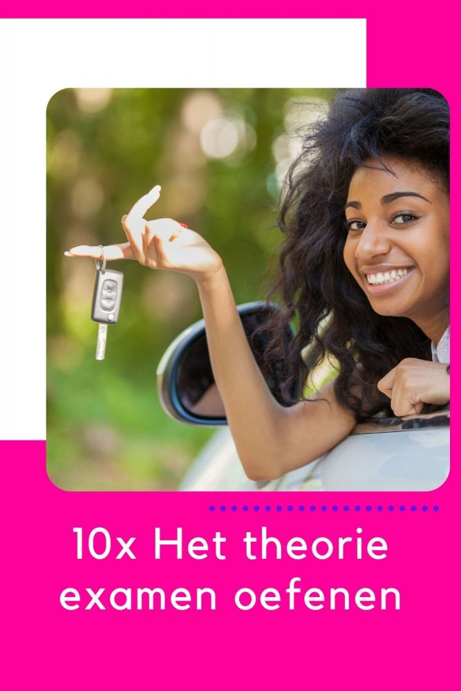 Het theorie examen oefenen