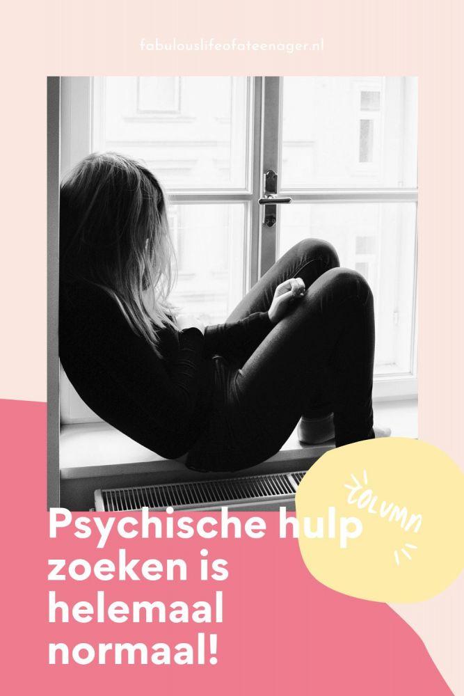 Psychische hulp zoeken